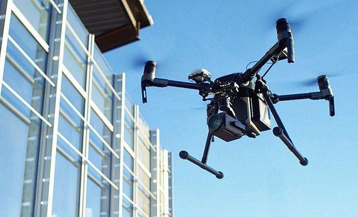 Применение квадрокоптеров в обследовании зданий и сооружений