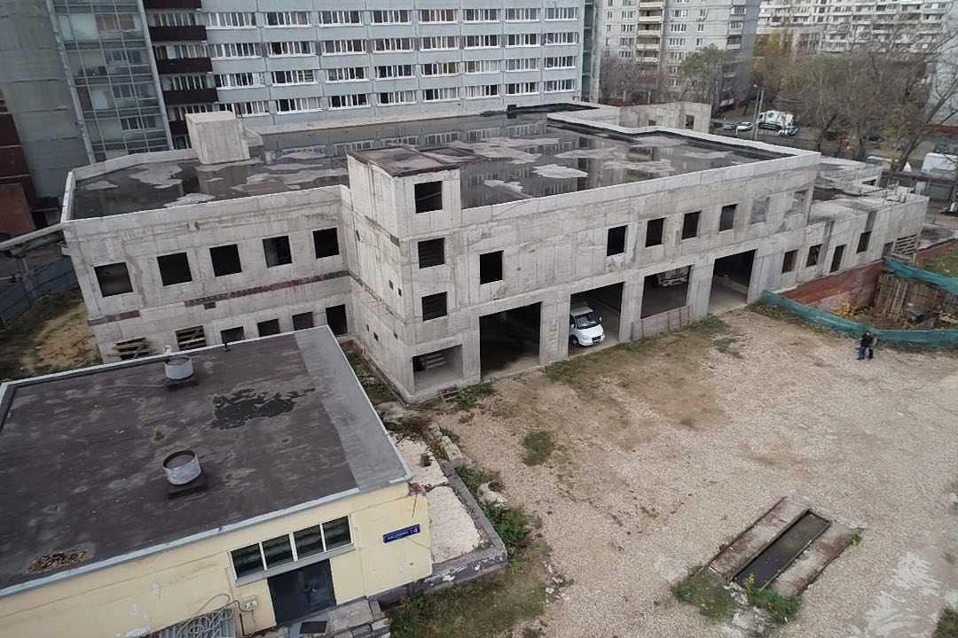 Многофункциональный жилищно-бытовой комплекс Академии ГПС МЧС