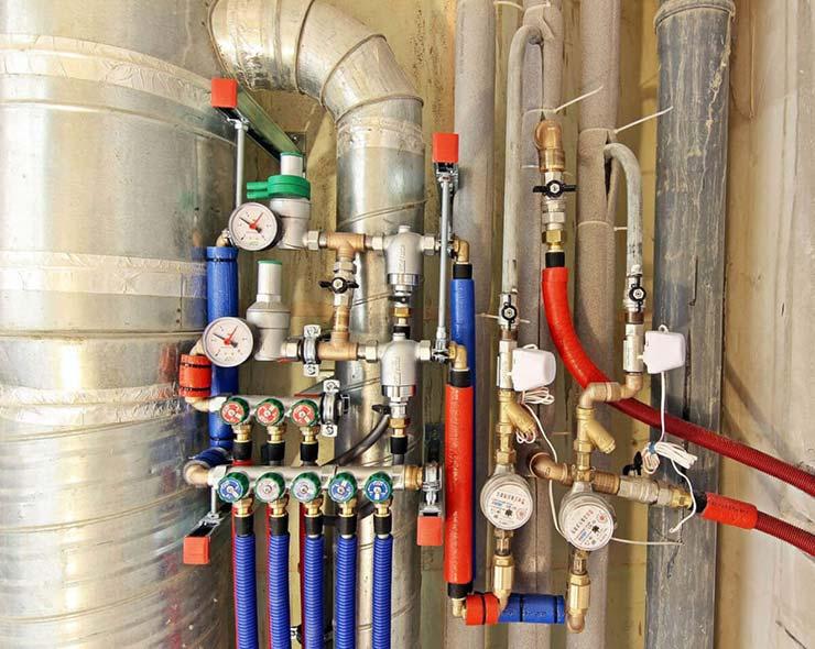 Системы горячего и холоднго водоснабжения